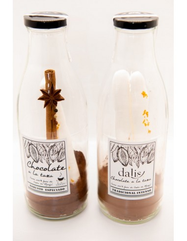 TWO ASSORTED CHOCOLATE BOTTLES PACK